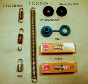 Exhaust System Rubber Isolators and Springs